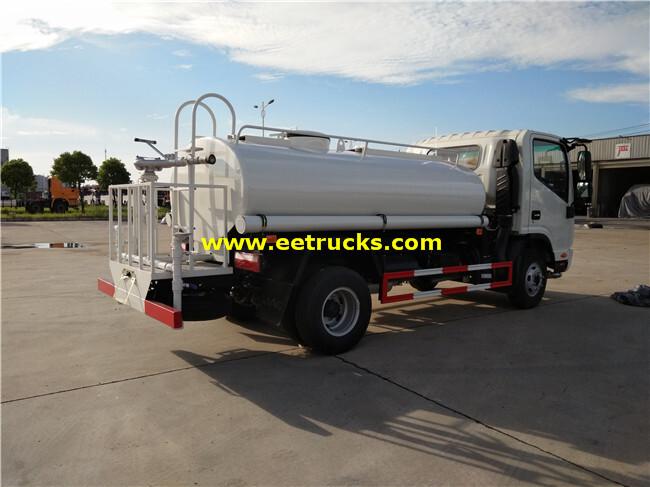 130HP 4200L Drinking Water Trucks