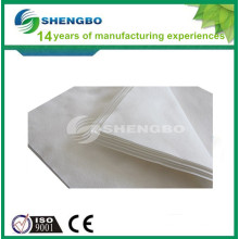 White Disposable Face Rest Cover