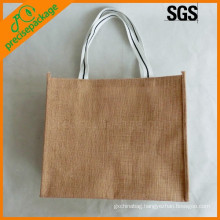 Eco-friendly reusable Jute packing shopping Bag
