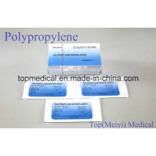 Хирургический шов - полипропиленовый мононити хирургический шов с иглой