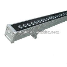 LED RGB 108W Wandwaschlicht 36X3W Unterlegscheibenstufe Linearbar Im Freien sparsame Lampen