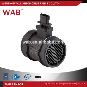 WAB oem 0281002618 para opel astra denso masa de aire sensor de flujo metro MAFS