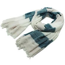 Леди мода полосы печатных хлопок вискоза весной шарф (YKY1158)