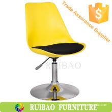 2016 Adjustable Height Swivel Bar Stool Plastics Industry Revolving Chair