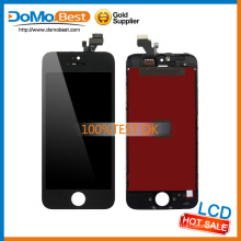 Original sufficient stock transparent lcd display for iPhone 5 replacement lcd screen,flexible lcd display for iphone 5