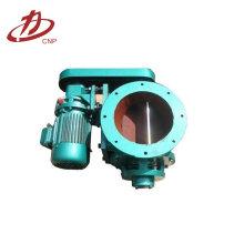 Válvula rotativa neumática / fabricante de válvula de alimentación rotativa
