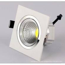 3W / 5W / 7W / 9W / 12W LED COB Downlight para sala de estar