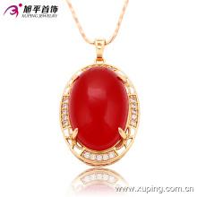 32388 Xuping fábrica al por mayor en China Joyería de moda 18k oro plateado colgante para las mujeres