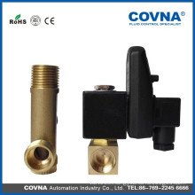 water drain valve 1/2 inch brass solenoid valve with timer
