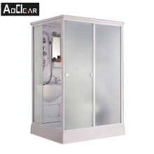 Aokeliya luxury multi-function prefab shower cabin for bathroom use with toilet and shower