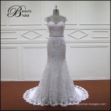 Vestidos de noiva francês Lace sereia