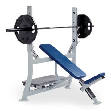 banco de treino Flat Bench Weight Storage