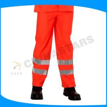 100% poliéster 300D oxford en471 calças reflexivas para a segurança vestindo