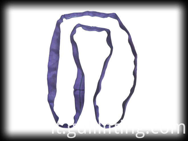 Round Sling For Lifing