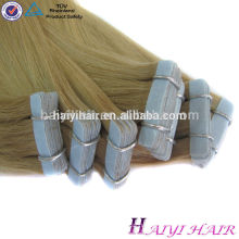 New Style Hot Sale Top Quality 100 Remy Skin Weft Pu Glue Virgin Tape In Hair Extensions