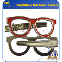 Metal Sunglass Tie Clip Design Bowtie