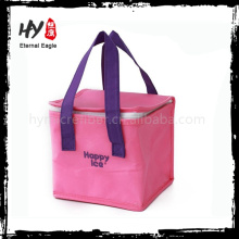 Recyclable insulated picnic cooler bag, nonwoven polypropylene cooler bag, lunch box bag