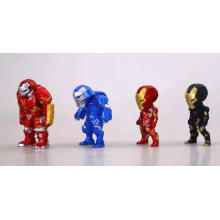 Personalizada mini articulada figura de acción niños muñeca aprendizaje de juguetes de plástico