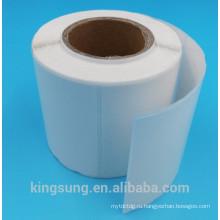 белый круглый угол подгонянный использование бумаги рулон этикетки производитель