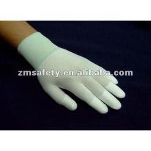 Anti Static Nylon Knit ESD PU Top Fit Glove