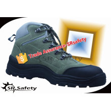 SRSAFETY 2015 new style high quality suede leather safety steel shoes china suppliers