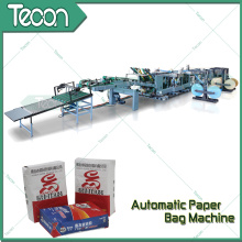 Energy Conservation Chemical Kraft Paper Valve Bag Making Machine