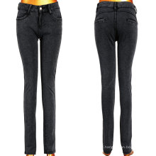 Larga Clásica Negro Lady Stretchy Jeans