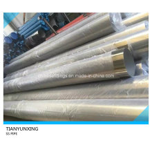 Polished ASTM 316L Seamless Stainless Steel Pipe/Tube