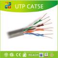 Cabo de rede padrão Cat5e de condutor de cobre / CCS
