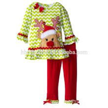OEM service enfants boutique 2016 correspondant pyjamas famille manches longues rayé deux pièces ensemble enfants vacances pyjamas