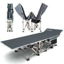 Cama dobrável ao ar livre cama portátil do exército de Sun cama nova telescópica do projeto