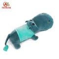 Natal Bonito Do Bebê Macio Fofo Hipopótamo Animal Personalizado Recheado Brown Vermelho Amarelo Rosa Verde Roxo Azul Brinquedo De Pelúcia Hipopótamo