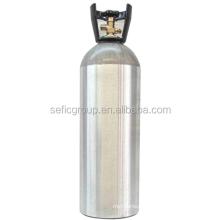 8L-150bar 2.5LB/5LB/10LB/20LB co2 aluminum cylinder