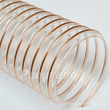 100m HVAC Air Conditioner Ducting Copper Wire Reinforced Plastic Hose