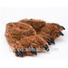 Maßgeschneiderte Plüschtiere benutzerdefinierte gefüllte Tiere tragen Hausschuhe