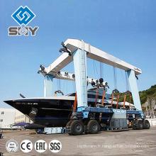 Grue de manutention de yacht de 100 tonnes