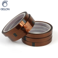 Lithium ion battery materials Kapoton Tape Dark brown high temperature tape for lithium ion battery tab protection