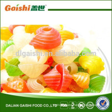 Chinese snack food colored cracker with competitive price