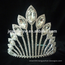 Hair accessories hair jewelry rhinestone pageant crowns wholesale crowns and tiaras