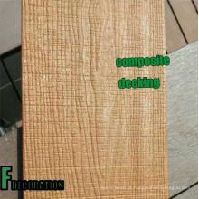 Revestimento composto plástico de madeira da estratificação WPC exterior da co-extrusão