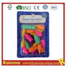 Heiße verkaufende neue Produkte Bleistift-Kappen-Radiergummi