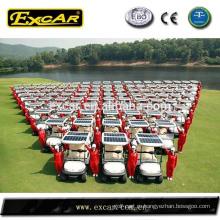 электрическая тележка солнечной гольф