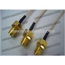 Популярные hotsell SMA мужской прямоугольный для кабеля rg142