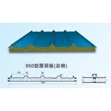 Rockwool 950 Dachplatte für Stahlbau (XGZ-45)