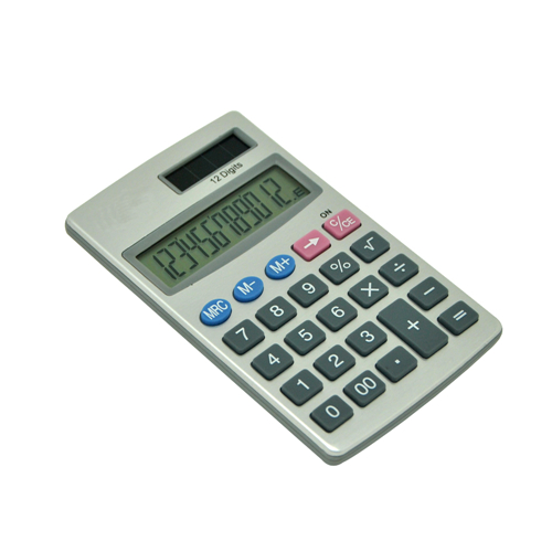 Pocket Aluminum Calculator