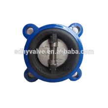 ductile iron wafer swing check valve