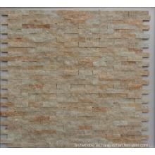 Mosaico de piedra natural de pizarra para el baño o la pared de la cocina