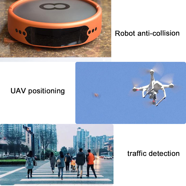 Robot collision avoidance Time Of Flight Sensor