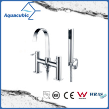 Bathtub Faucet with Hand Shower in Polish Chrome (AF1511-2C)