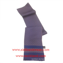 Double Side 100% Seide Custom Design Siebdruck Paisley Schal